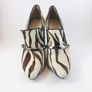 Cow leather Nine West High Heels